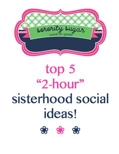 teamwork! bonding! socializing! <3 http://sororitysugar.tumblr.com/post/41532280025/2-hour-sisterhood-socials#notes