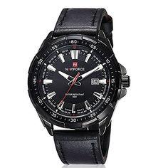 harwish Herren Edelstahl Armbanduhr 9056schwarz - http://uhr.haus/harwish/harwish-herren-edelstahl-armbanduhr-9056-2