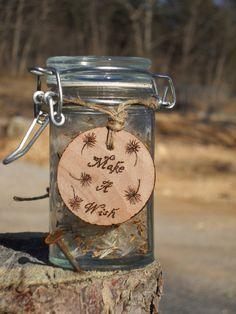 Make a Wish Dandelion Jar by ThreeDogsandaCat on Etsy. $10.00, via Etsy.