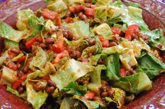 """""""Point-less"""" Meals: Taco Salad"""
