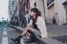 JONAK GIRLS   Fruity Girl is wearing our BOLD boots