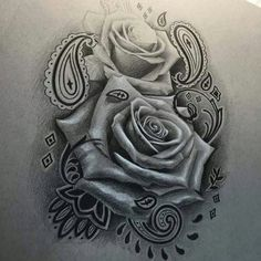 Tattoo Designs Nice Rose Tattoo In Chicano Style - tattoo - Tattoo Lettrage Chicano, Chicano Style Tattoo, Chicano Drawings, Tattoo Oma, Chicanas Tattoo, Tattoo Motive, Wrist Tattoo, Lion Tattoo, Tattoos Skull
