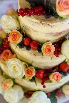 Frau Zuckerfee: Hochzeitstorte selber machen Anleitung - naked cake