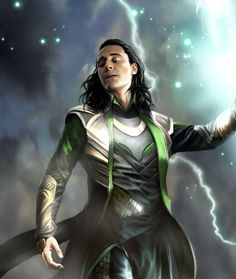 Loki by Fanart I'm going to start pinning pins of Loki because I really need to watch those movies!
