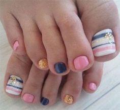 Best New Year Toe Nail Art Designs & Ideas 2013/ 2014 | Fabulous Nail Art Designs