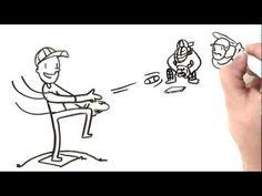 ▶ Baseball Rules Whiteboard Video Rules of Baseball - YouTube