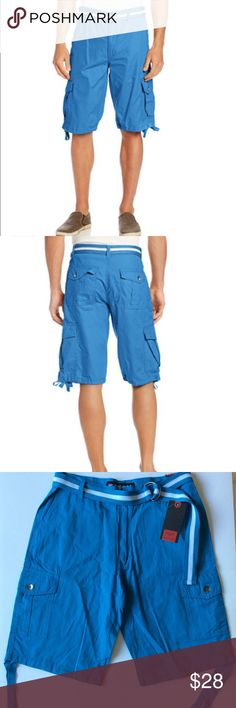 f4b3886ce9 NWT South Pole Men's Belted Ripstop Cargo Short NWT South Pole Men's Belted  Ripstop Cargo Short