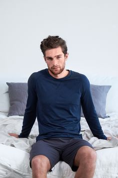Sleep better with Dagsmejan's sleep enhancing pajamas Most Comfortable Pajamas, Cotton Pjs, Best Pajamas, Fibre And Fabric, Swedish Design, Sleep Shirt, Stay Warm, Aesthetic Clothes, Diy Clothes
