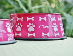 Dog Bowl Pink www.mibau.it