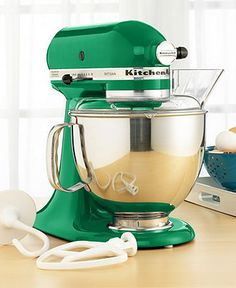 KitchenAid  | Learn more about #Emerald #Green for Interiors at http://www.goeye4design.com