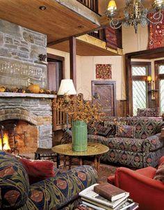 Inviting Living Room...I'm in love!