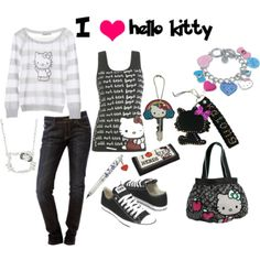 Another Hello Kitty Outfit❤
