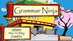 Free Online Game: Grammar Ninja