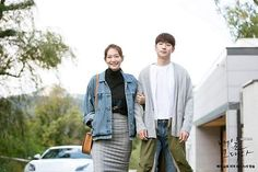 Tomorrow With You Kdrama, Lee Je Hoon, Shin Min Ah, Korean Drama Quotes, Korean Street Fashion, Drama Film, Korean Model, Korean Outfits, Military Jacket