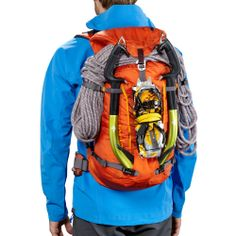 #lightweight pack for #climbing adventures or summit attempts: Patagonia Ascensionist Pack 35L - Climbing Packs www.rockcreek.com