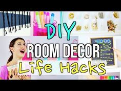 DIY Room Decor Life Hacks For Teens