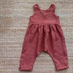 Linen jumpsuit for my baby #lacasettaincanada