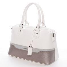 Stylová dámská kabelka do ruky wwwdemix.cz #kabelky #bílá #kabelka #dámy #styl #móda #pláž #ženy #dárky