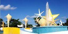 """Monumento a la entrada de la zona hotelera  """"EL Ceviche"""""""