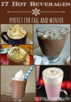 17 Hot #Beverages for Fall & #Winter #Recipes