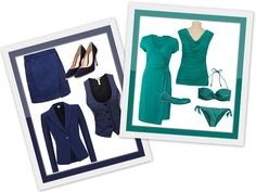 great article about navy blue and teal Navy Blue, Teal, Fashion Beauty, Seasons, Outfits, Color, Summer, Style, Swag