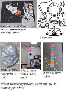 preschool space theme