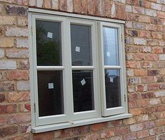 Rockingham Joinery are specialists of custom made wooden windows in Northamptonshire Office Workspace, Home Office, Wooden Windows, Exterior Colors, Joinery, Window Treatments, Bungalow, Stairs, Cottage