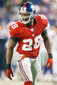 S Gibril Wilson won #superbowl XLII w/the Giants #NYG