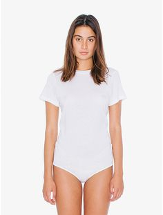 Cotton Modal T-Shirt Bodysuit