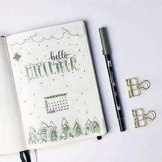 Loving these Hello December posts  @dutch_dots • • • #bujo #bulletjournals #bulletjournal #bullet #journal #bulletjournallife #planner #notes #love #life #pens #stationary #bulletjournalideas #watercolour #inspo #inspiration #study #muji #beautiful #progress #diary #December #art #washi #goals #wanderlust #travel #health #nomad