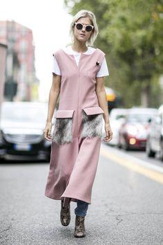 40ba10333b033d Comment porter des lunettes de soleil rose   Robe Rose, Couture 2016, Haute  Couture