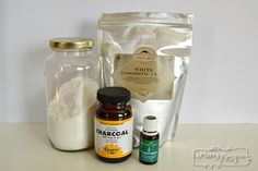 make your own whitening tooth powder with simple ingredients