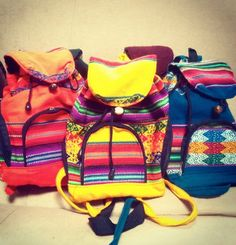 Tribal backpacks