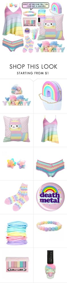 """"""""""" by baby-x-girl ❤ liked on Polyvore featuring Skinnydip, Wildfox, Accessorize, Hot Topic, ASOS and Pop Beauty"""