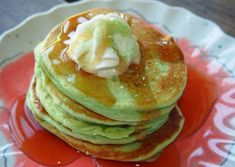 PISTACHIO ALMOND PANCAKES: 1/2 Cup Batter For Two Pancakes!    190 Calories