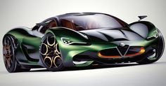 Alfa Romeo Could Really Use A New Supercar To Boost Its Image #Alfa_Romeo #Galleries