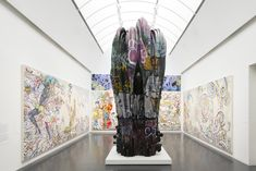 Museum of Contemporary Art Chicago - Whimsy Reigns at the Murakami Exhibit