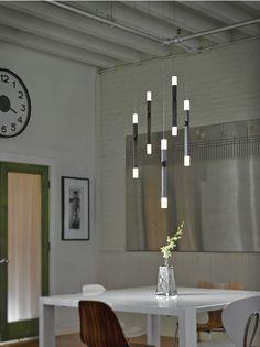 Кованые подвесные светильники от Hubbardton Forge #ковка #светильники #дизайнинтерьера