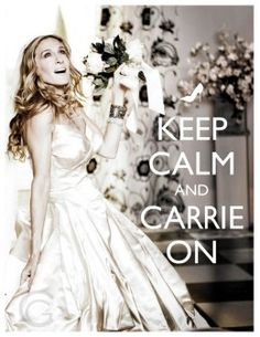 carrie on :)