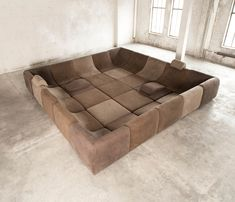 25 pc Modular 'Pool', Luxury Seating Landscape by Luigi Colani | From a unique collection of antique and modern sectional sofas at http://www.1stdibs.com/furniture/seating/sectional-sofas/