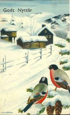 Гномики кобольды зимой картинки