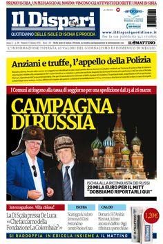 a copertina del 11 marzo 2016 #ischia #ildispari