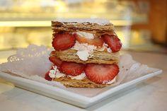 Baked Goods – The French Corner Bakery Artisan Cafe, Corner Bakery, Macaroon Recipes, Coconut Macaroons, Specialty Cakes, Bread Baking, Baked Goods, Cheesecake, Treats