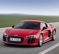 Audi is throwing down the gauntlet and stepping up their sporty game, with the 2017 Audi R8. Ballsy, for sure, but this little rocket may just be able to put its money where its tailpipe is. This high-performance ride debuted at the Geneva Motor Show, with an impressive V10 mid-engine and a never-before-seen Quattro drive.
