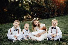 The sweetest little flower girl and ring bearers #cedarwoodweddings 04.08.2017 :: Annabel+John | Cedarwood Weddings