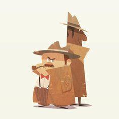 the investigator _ _ #friends #drawing #painting #animation #design #illustration #그림 #doodle #art #bromance #character #일러스트 #cartoon #디자인 #characterdesign #conceptart
