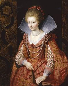 Charlotte-Marguerite de Montmorency, Princess of Condé. Rubens, 1610