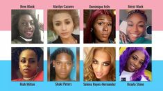 "These are eight of 22 transgender people violently killed so far this year. Speak their names and remember Isaiah 1:17, ""Learn to do good. Seek justice: help the oppressed; defend the orphan; plead for the widow."" For 50 years, MCCDC has offered songs that cry out for justice and mercy for oppressed and forgotten people. Selena, Isaiah 1, Cry Out, Transgender People, Dominique, Orphan, Oppression, Crying"