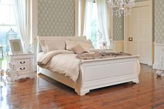 Chardonnay King Bed Frame from Harvey Norman Ireland Home Decor Inspiration, House Design, House, House Inspiration, Master Bedroom, New Homes, Home Decor, Bed, Bed Frame
