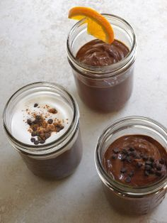 Raw Chocolate Pudding: 3 Ways